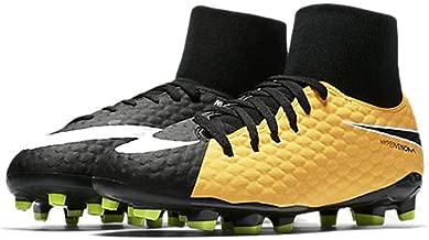 Nike The Jr. Hypervenom Phelon III Dynamic Fit Big Kids' Firm-Ground Soccer Cleat
