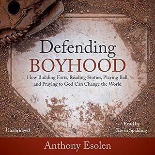 Defending Boyhood audiobook cover art