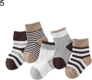 clickstostyle Kids Girls 3 Pairs Ankle Bow Socks School Uniform Party Casual