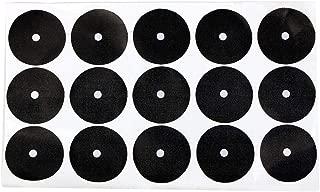 Alomejor Pool Table Spots Billiard Pool Table Ball Marker Position Locator Self-Adhesive Billiards Ball Point Stick 15pcs American Serve Point