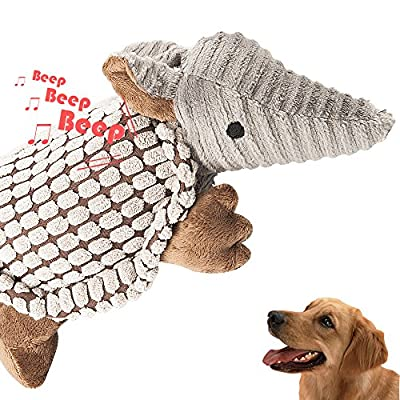 oneisall Pet Dog Plush Squeaking Toy Training Squeaky Toys