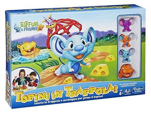 Hasbro A49731750 Playskool Attrap'Souris Jeu pour Enfant (français Non Garanti) Version Italienne Medium Multicolore