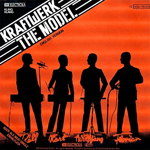 Kraftwerk – Das Model / The Model – Kling Klang – 1 C 006-78 078, EMI Electrola – 1C 006-78 078 - 2