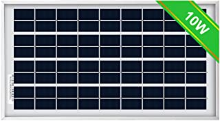 ECO-WORTHY 10W Solar Panel 10 Watt 12 Volt Pv Solar Module,Solar Cell Panel