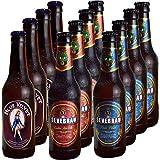Lote de Cervezas Artesanas Suaves 4 Castua Pale Ale, 4 Lager Pilsen y 4 Blue Velvet