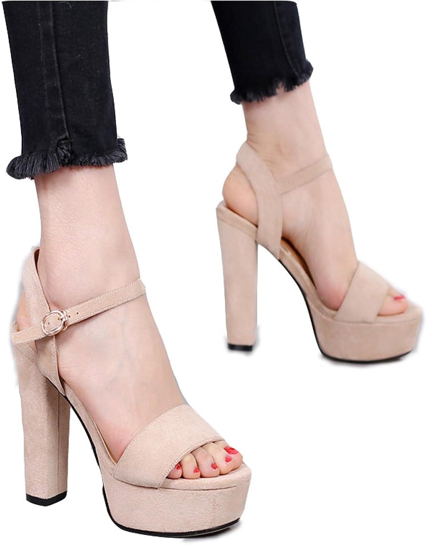 Hyun Times Beige High-Heeled shoes Fashion High Heels