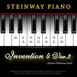 Best bach invention 4 in d minor Reviews