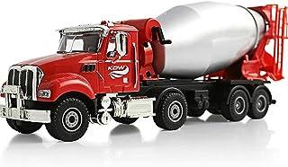 Mixer Truck Construction Vehicle Metal Model, 1:50 Alloy Diecast Mixer Truck Model, Mixing Barrel Can Rotate 360°, Rotate ...