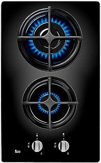 comprar comparacion Teka CGB LUX 30 2G AL CI Integrado Encimera de gas butano Negro - Placa (Integrado, Encimera de gas, Negro, 1000 W, 2800 W...