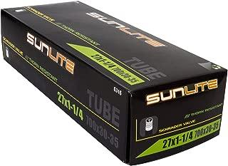 Sunlite Thorn Resistant Bicycle Tube 27 x 1-1/4 (700 x 30-35) SCHRADER valve