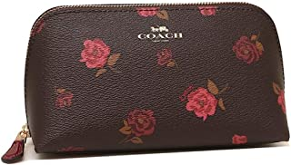 Coach Cosmetic Case Make Up Case Tossed Peony F55640