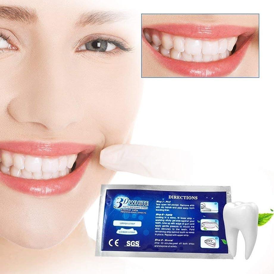 写真撮影気づく東方口腔洗浄器歯を白くする歯を白くする3d滑り止め歯を白くする歯、白くなる除去剤および新しい口およびココナッツ油、42白いストリップ、3セットを白くする歯