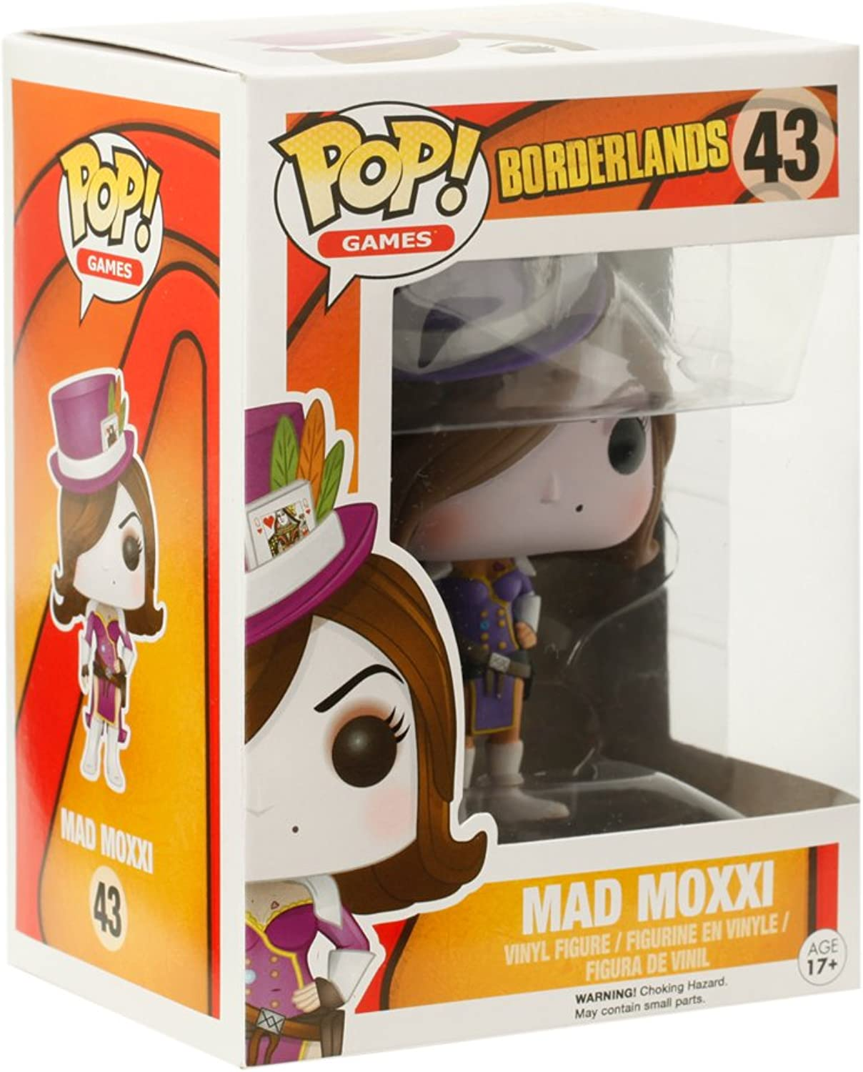 Funko - Figurine Borderlands - Mad Moxxi rot Outfit Exclu Pop 10cm - 0849803064372