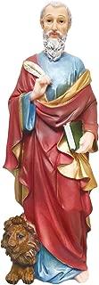 12 Inch Saint Mark Statue St. Mark Statue San Marcos De Leon Statue
