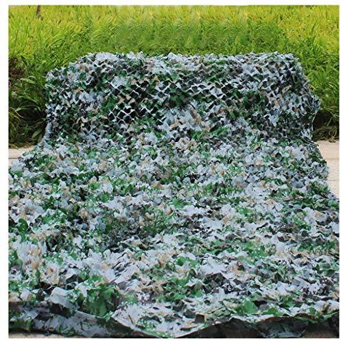 WZHCAMOUFLAGENET Multi-Type-Modus Camouflage Mesh Polyester Mesh Tuch Sonnencreme Staubdicht Unsichtbare Schießen Zelt Fotografie Netzwerkgröße 6 * 6m (Farbe : D)