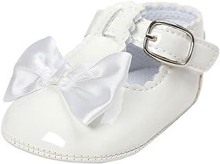 Primeros Zapatos para Caminar,Auxma Zapatos de bebé, Zapatos Antideslizantes del Bowknot de los bebés