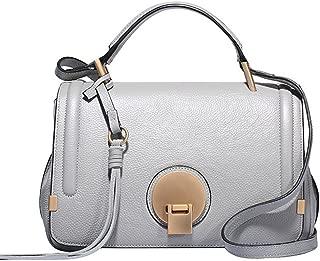 Women's Genuine Leather Top Handle Type Cross Body Shoulder Bag