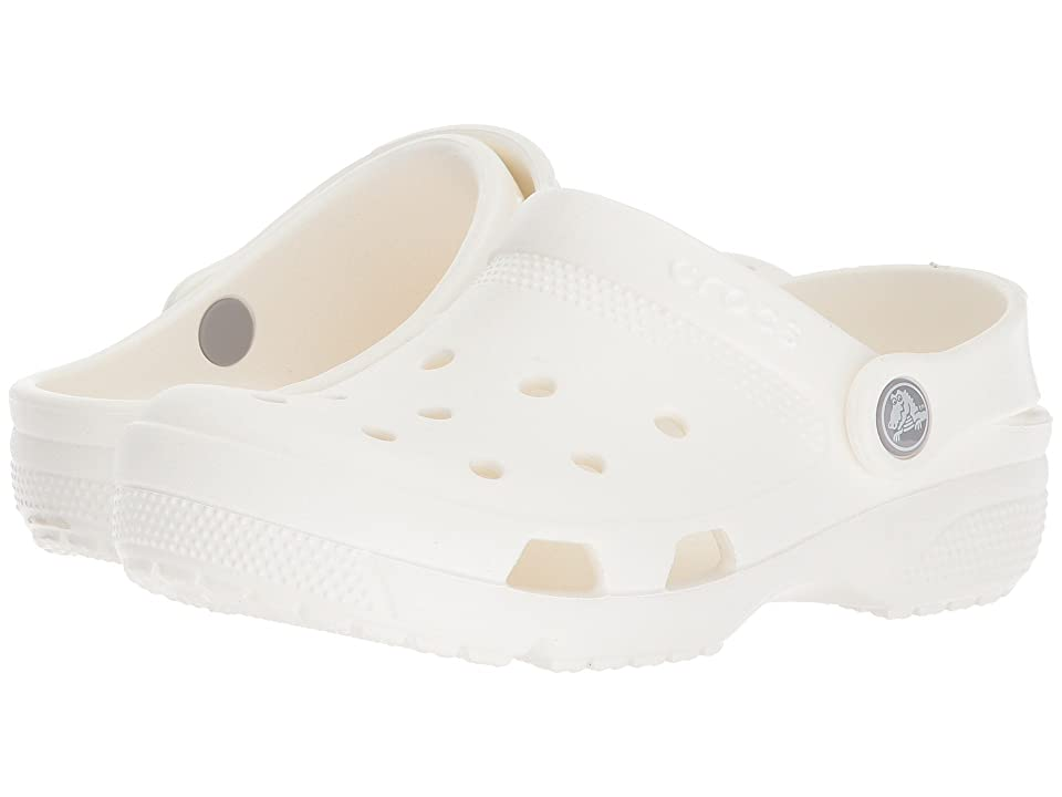 Crocs Kids Coast Clog (Toddler/Little Kid) (White) Kids Shoes