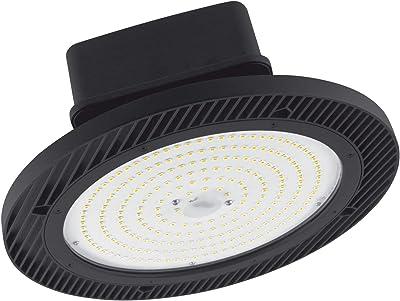 LEDVANCE HB DALI CLO 90 W 4000 K 115 DEG IP65 BK Éclairage de plafond Noir – Lampe (Noir, brossé, IP65, I, 90 W, Blanc froid)