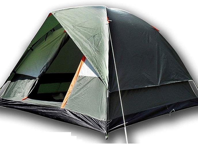 YANABC 3 4 Personnes Coupe-Vent Tente de Camping Double imperméable Tente de Tourisme Tente de randonnée en Plein air randonnée Touristique de la Plage