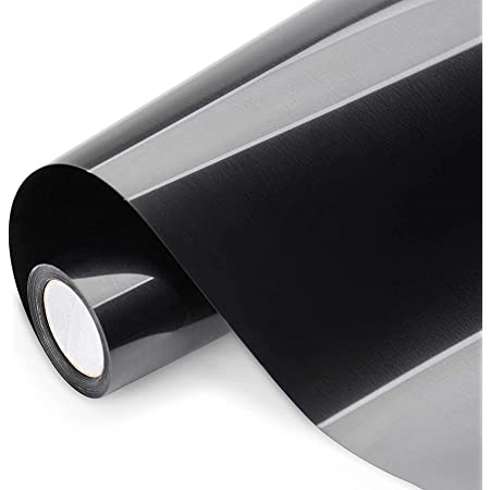 Bellatoi Rouleau Flex Thermocollant pour Tissu,30cm×4.6m Rouleau Vinyle de Transfert de Chaleur,Film transfert Film Plotter pour le repassage sur T-shirts et autres tissus(noir)
