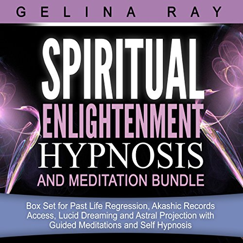 Spiritual Enlightenment Hypnosis and Meditation Bundle audiobook cover art