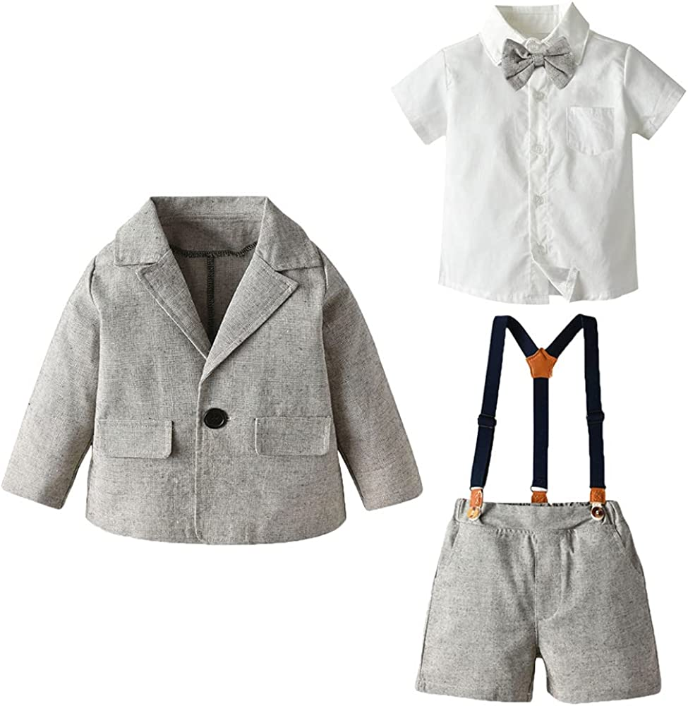 25% OFF Max 48% OFF Quenny Boys' Spring and Autumn White Suits Long-Sleeved Lapel Sh