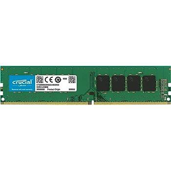 Crucial CT16G4DFD824A Memoria per PC da 16 GB Dual Rank, DDR4, 2400 MT/s, DIMM, 288-Pin