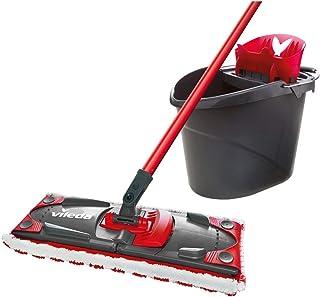 Vileda Ultramax Flat Mop Complete Set Includes Mop/ Bucket/ Wringer