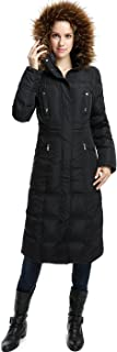 BGSD Women's Lillian Water Resistant Long Down Coat