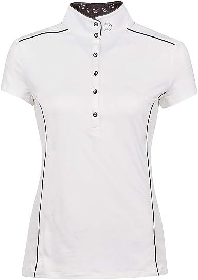 Dublin - Camisa de competición equitación diseño Manga Corta ...