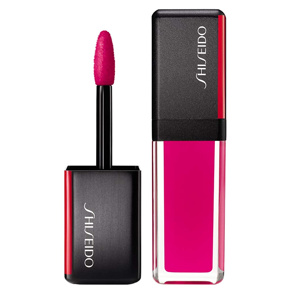 官僚に話す販売員資生堂 LacquerInk LipShine - # 302 Piexi Pink (Strawberry) 6ml/0.2oz並行輸入品