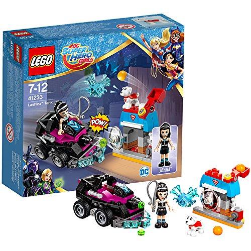 LEGO DC Super Hero Girls 41233 - Lashinas Action-Cruiser, Superhelden-Spielzeug