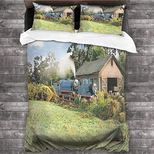 Dearest-Love Pillowcase New Thomas The Tank Engine 02 80x90 INCH Twin, Full, King Bed