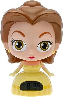 Disney Princess BulbBotz 2020879 Belle 'Beauty and The Beast' Light Up Alarm Clock