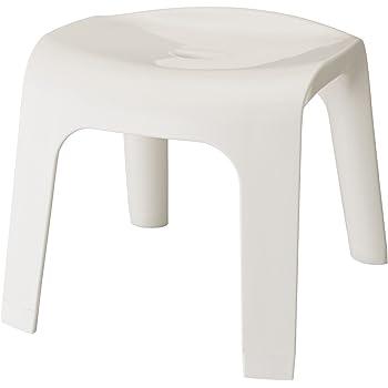 レック Sylphy 風呂いす 高さ30cm ( ホワイト ) ワイド座面 (風呂椅子 バスチェア) BB-403