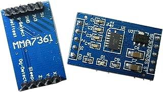 MMA7361 Angle Sensor Inclination Accelerometer Acceleration Module for Arduino Instead of MMA7260