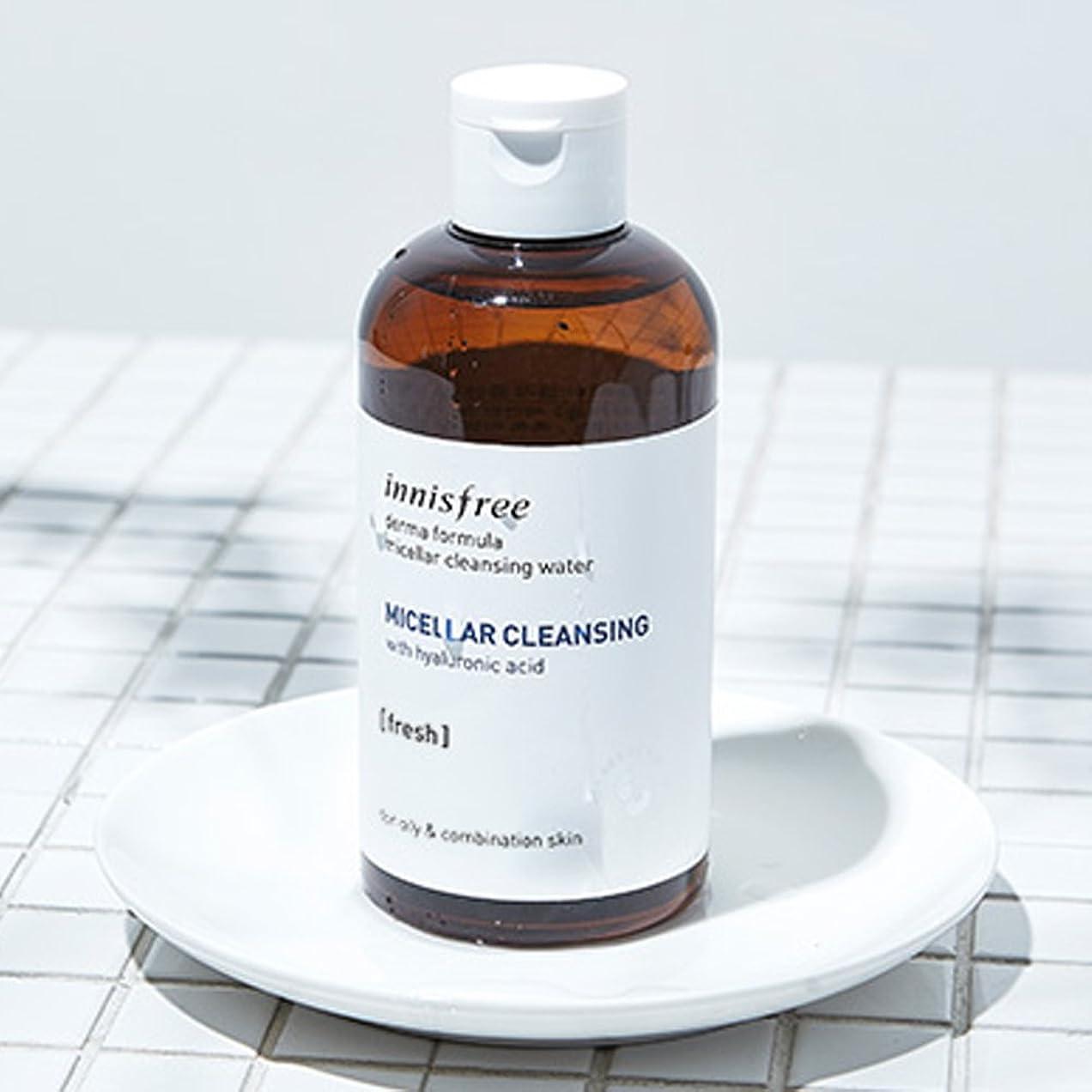 効能面白い北米イニスフリーダーマフォーミュラミセルクレンジングウォーター250ml Innisfree Derma Formula Micellar Cleansing Water 250ml [海外直送品][並行輸入品] (#2. Fresh)