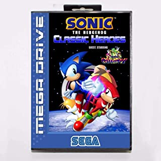 TopFor Sonic The Hedgehog Classic Heroes 16 Bit Md Game Card With Retail Box For Sega Mega Drive