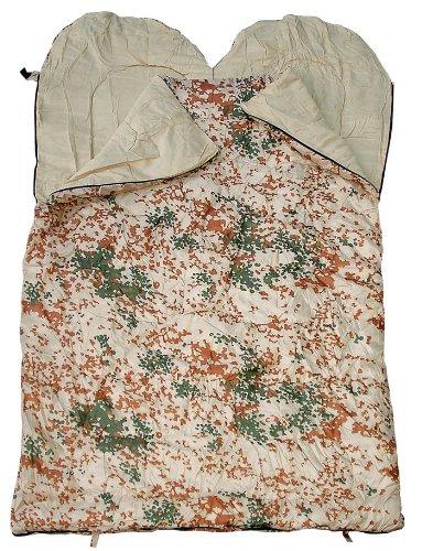 Spacieux Sac de couchage double, sac de couchage pour deux Personnes, différentes couleurs - camouflage tropical
