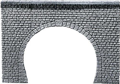 "FALLER 170881 - Tunnelportal Profi ""Naturstein Quader"", 2-gleisig"