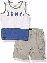 DKNY Boys' Tank Top and Short Set