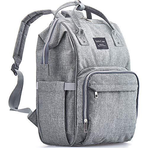 KiddyCare Diaper Bag Backpack – Multi-Function Baby Bag, Maternity Nappy Bags...