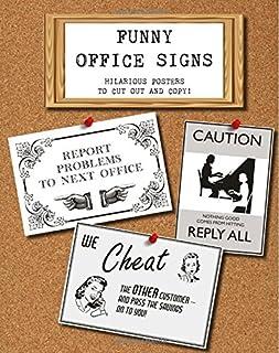 Amazon com: office signs