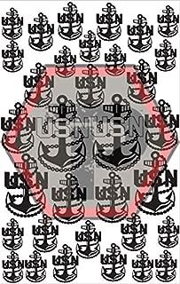 Tactical Penguin Navy Logo Stencil for cerakote, gunkote, duracoat Avery Paint mask Sticky Back Vinyl