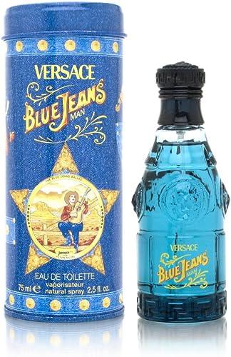 Gianni Versace Blue Jeans Eau de Toilette Spray for Men, 75ml product image
