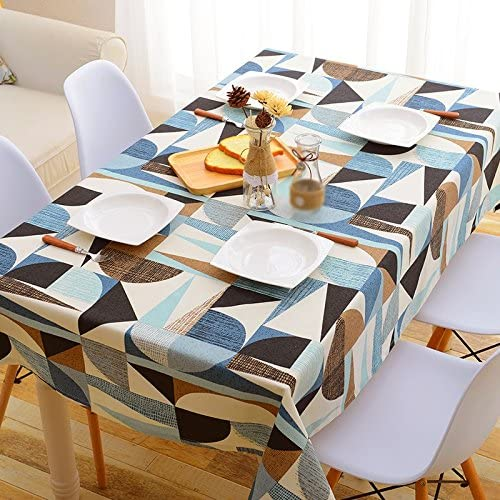 Tablecloth.A ASL Tuch Tischdecke Tischdecke Rund Tischdecke Dicker Rechteck Couchtisch Wohnzimmer Restaurant Mehrzweck-Abdeckung Handtuch Tuch w en (Größe   140  240CM)