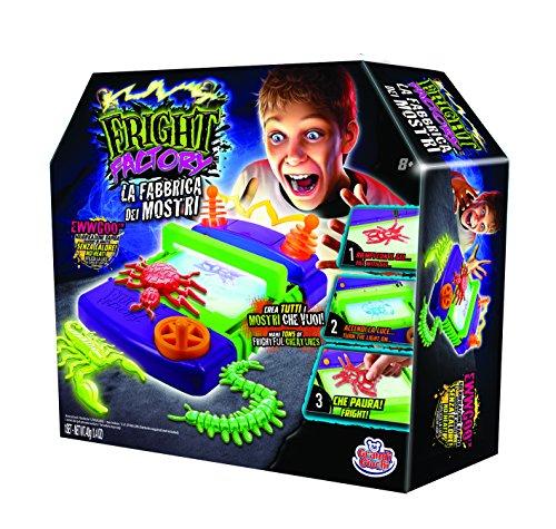 Grandi Giochi-Il Tuo Laboratorio dei Mostri 3D, Multicolore, GG00156