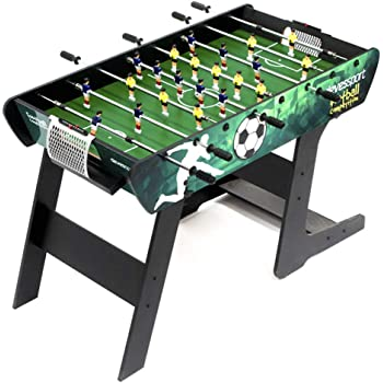 Dema 70089 - Futbolín Plegable, Color Negro: Amazon.es: Deportes y ...
