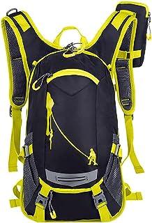 Dengyujiaasj Backpack, Raincoat Bicycle Backpack ,Mountain Bike Water Bag For Men Women Nylon Cycling Hiking Tenting Runni...